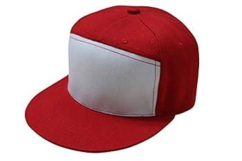 Trend Basics Embroidered Pokemon Trainer Red Hat - 1996 Trainer Red Design  Snapback  1996 Original Design