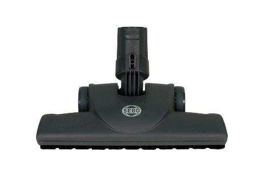 Sebo 7200GS - Ugello per parquet, per pavimenti duri sensibili, larghezza di lavoro: 28 cm, per Felix, Airbelt K,D,C, grigio-nero