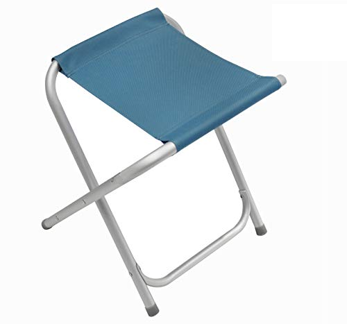 Homecall Folding camping stool Alu with blue 600D polyester
