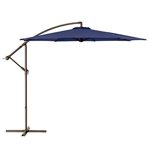 Fokebel Offset Umbrella 10ft Patio Cantilever Umbrellas...