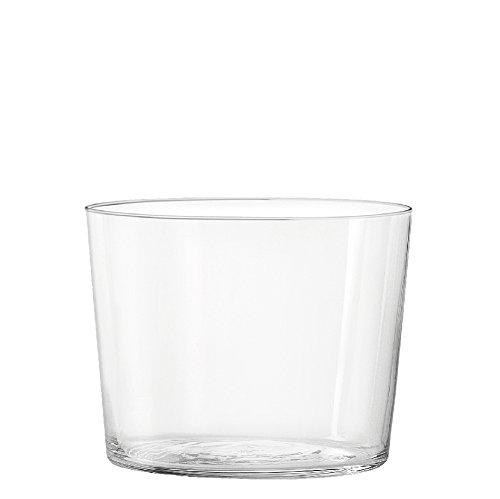 H&H Starck Set 6 Bicchieri Liquore, Vetro Ultrasottile, 190 ml