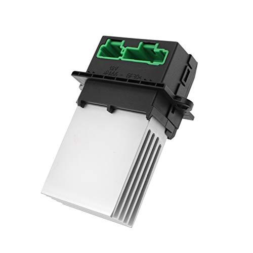GXDD Calentador de motor Aire acondicionado Resistor de soplador Ajuste para Nissan Tiida Livina Citroen Renault Megane Scenic Clio Peugeot 406 607 207 (Color Name : Resistor)