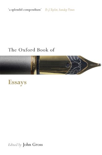 The Oxford Book of Essays (Oxford Books of Prose & Verse)