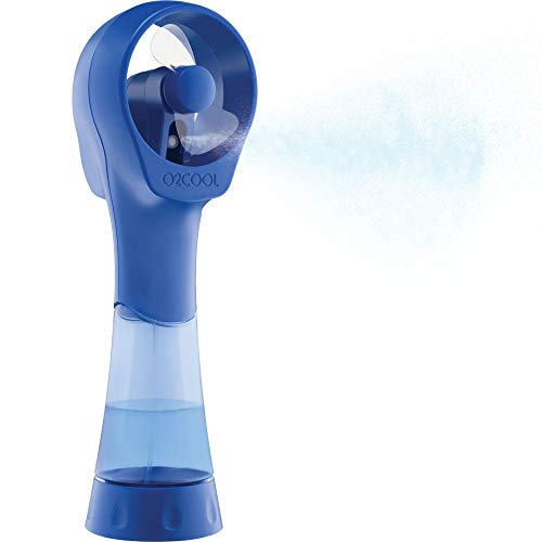 O2COOL FML0001 Elite Misting Fan, 1 Size, Blue