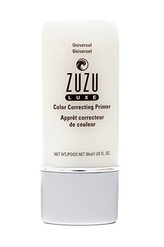 Zuzu Luxe Color correcting Primers (Universal),1 fl oz, prime skin to reduce the appearance of fine lines, create flawless skin. Natural, Paraben Free, Vegan, Gluten-free, Cruelty-free, Non GMO.