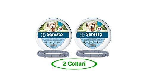 Bayer SERESTO Collare Cane Fino a 8 kg - Offerta 2 Collari
