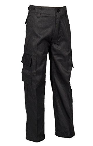 MFH Kinder BW US Army Hose Rangerhose BDU schwarz 158/164