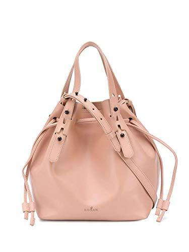 Hogan Luxury Fashion Donna KBW018K0300ND1M030 Rosa Pelle Borsa A Mano | Primavera-estate 20