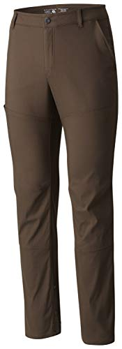 Mountain Hardwear Men's AP Pant for Hiking, Climbing, Camping, and Casual Everyday - Tundra - 28-32
