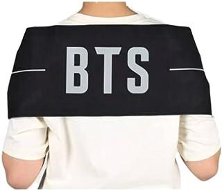 تسليم فوري - (UAE) [Original] BTS Official Goods - Slogan وشاح بي تي اس الرسمي للتشجيع الاصلي يحتوي على تصميمين مختلفين كل...