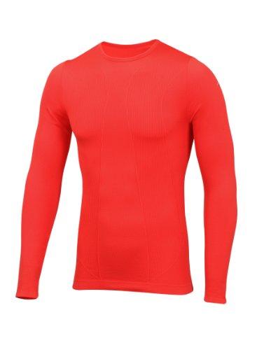 SubZero Factor 1 Plus Haut à Manches Longues Rouge Taille S