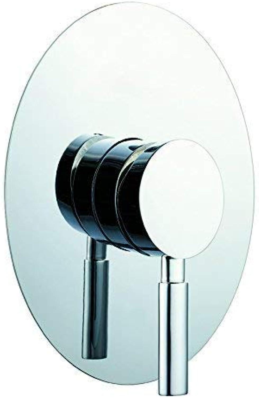 Luxus Design Unterputz Armatur UP-Duschmischer Serie STAI Oval inkl. UP-Krper und Sichtteile