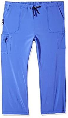 Carhartt Women's Tall Plus Size Boot Cut Cargo Pant, Bluebonnet, 2X-Large/Tall