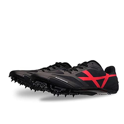 BLBK Zapatillas de correr para hombre, de media distancia, con 8 clavos,...