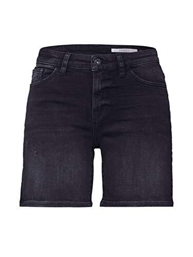 edc by Esprit 030CC1C309 Shorts, Damen, Schwarz 30 EU