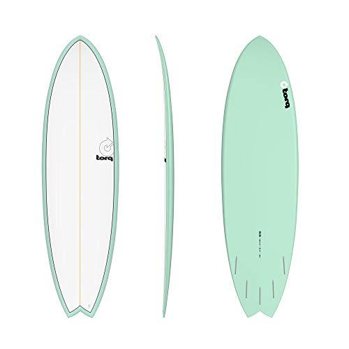 TORQ Epoxy TET 6.3 Mod Fish Seagreen - Tabla de Surf