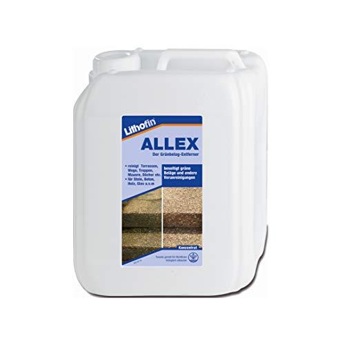 Lithofin Allex Grünbelagentferner Moosentferner / 5 Liter Kanister