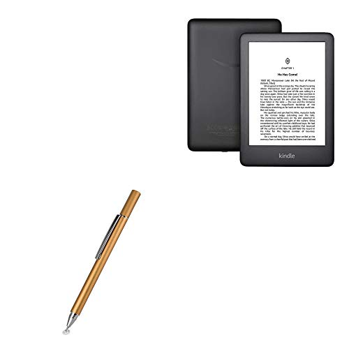 Caneta stylus capacitiva BoxWave FineTouch para Amazon Kindle (10ª geração 2019), superprecisa – ouro champanhe