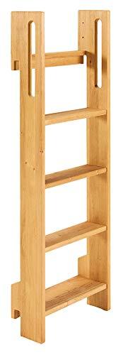 BioKinder Noah Leiter für Etagenbett aus Massivholz Erle 130 cm