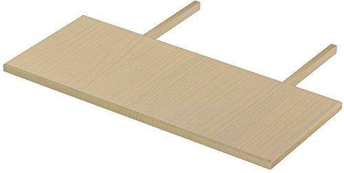 Brasilmöbel Ansteckplatten Set 50x120 Birke Rio Classiko oder Rio Kanto Pinie Massivholz Echtholz Größe & Farbe wählbar für Esstisch 2X Tischverlängerung Tisch Erweiterung ausziehbar