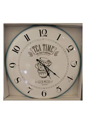 Brandani Horloge Tea Time Metal Diamètre 60 cm