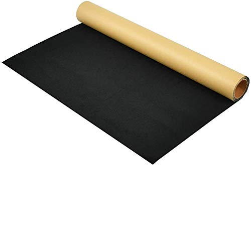 XWZN Self Adhesive Velvet Flock Contact Paper Liner for Jewelry Drawer Craft Fabric Peel Stick40cmX200cm (Back)
