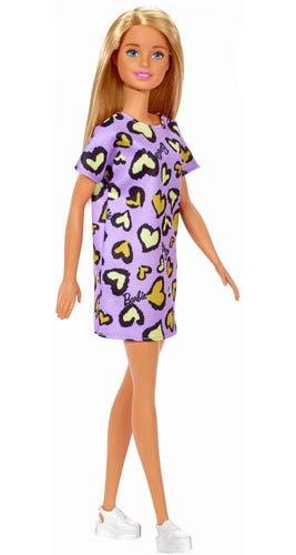 Boneca Barbie - Fashion And Beauty - Loira Com Vestido Roxo