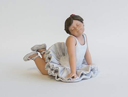 Nadal Figura Decorativa preparada para Bailar, Resina, Multicolor, 9.50x13.50x10.50 cm