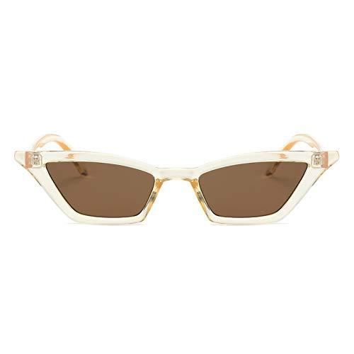 Moda Gafas De Sol Vintage para Mujer, Ojo De Gato, Diseñador De Marca De Lujo, Gafas De Sol, Retro, Pequeñas, Rojas, para Mujer, Gafas De Sol Negras, Ctea