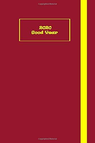 Good Year 2020: Journals To Write In For Men or  Women Classic Lined Pages (Red and Yellow Cover) Journal To Write In For Men Option.Executive Size (6' x 9').GET YOURS TODAY!