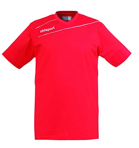uhlsport 100209601 T-Shirt Homme Rouge/Blanc FR : 3XL (Taille Fabricant : XXXL)