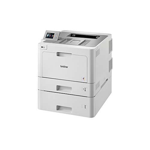 Brother HL-L9310CDWT W-LAN Farblaserdrucker (2400 x 600 dpi, Duplex, 31 Seiten/Min.) weiß/grau