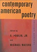 Contemporary American Poetry (7th edition, 2000)