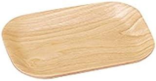 ウッドトレー ウィローウッド 17.5cm長角トレー【L-17.5 S-12.5 H-1.4cm】 T1000009