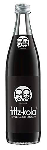 10 Flaschen Fritz Kola a 0,5L extra koffeinhaltig Cola Schraubverschluss inc. 1.50€ MEHRWEG Pfand