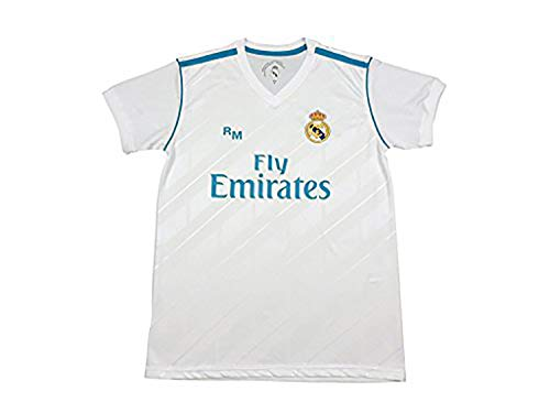 Camiseta Sergio Ramos 4 - Réplica Oficial - Primera Equipación Real Madrid 2017/2018 (S)