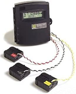 SCHNEIDER ELECTRIC RANGE400-AMP 2.45 X 2.89-INCH EME3043 Energy Meter,EXT RANGE400A,2.45