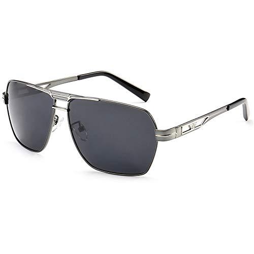 Herren Polarisierte Fahren Sonnenbrille Metall Rahme Ultra Leicht
