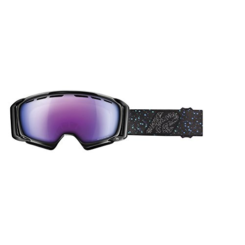K2 Skis Damen Brille Skibrille Sira Zeiss, Black Speckle Purple Twilight