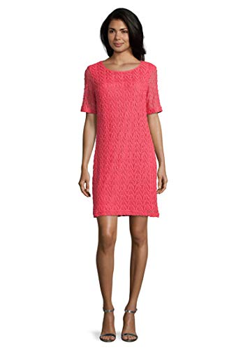 Betty Barclay Damen Hannah 3 Kleid, Rot (Coral Red 4108), (Herstellergröße: 42)