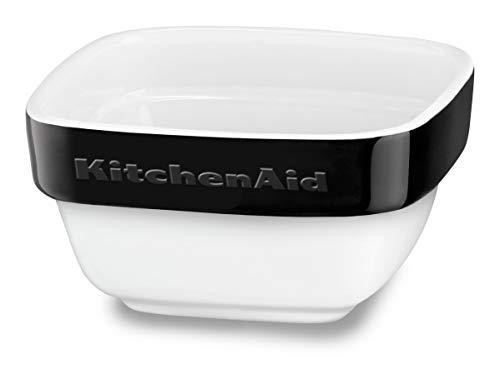 KitchenAid KBLR04RMOB Set 4 Mini Pirofile, 10 x 10 X 11,5 Cm - Nero Onice