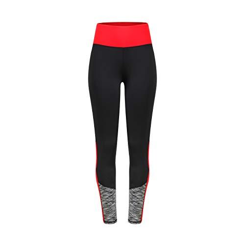 Eono Essentials Pantalon/legging de compression amincissant à taille haute pour yoga pour femme, TailleM
