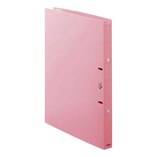 たすけあ利用者カルテリングファイル FL-804RF(ピンク)24.5MMFL-804RF(ピンク)24.5MM(24-8244-01)【プラス】(販売単位:1)