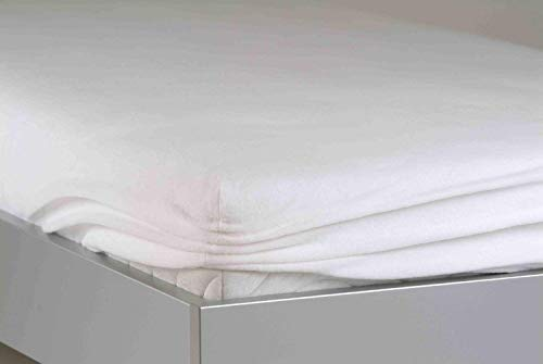 BNP 8049 Bed Care Matratzenspannbezug Easy-top Stretch Molton 90/100 x 200 cm
