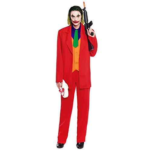 Partylandia Disfraz Hombre de Carnaval Halloween Fiesta Cosplay - Joker M