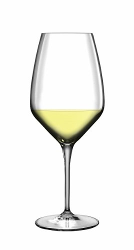 Luigi Bormioli 7540201 Atelier-Confezione di 6 calici Sauvignon Cristallo Trasparente, 7,9 x 7,9 x 20,3 cm
