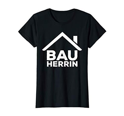Damen Bauherrin Richtfest Hausbauer Häuslebauer Eigenheim Geschenk T-Shirt