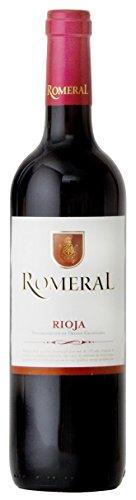 Romeral Vino Rioja Tinto de 11.5º - Paquete de 6 botellas de 750 ml