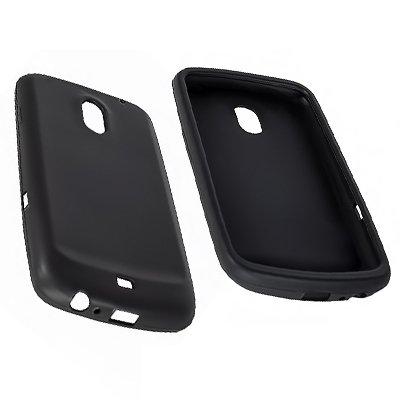 Numerva - Custodia in silicone/TPU per Samsung Galaxy Nexus I9250, colore: Nero