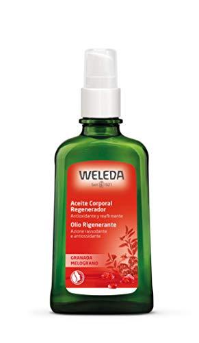 WELEDA Granatapfel Regenerierendes Pflege-Öl, intensives Naturkosmetik Körperöl mit pflanzlichen Ölen für anspruchsvolle Haut, Pflege Öl zur Förderung der...